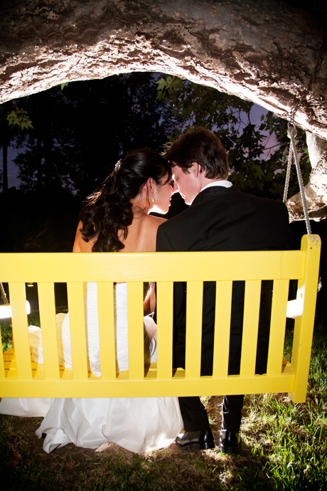 Bride and Groom at Rancho Las Lomas