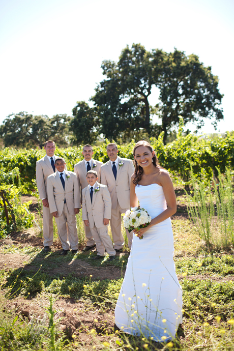 Rustic Wedding at Gainey Vineyard