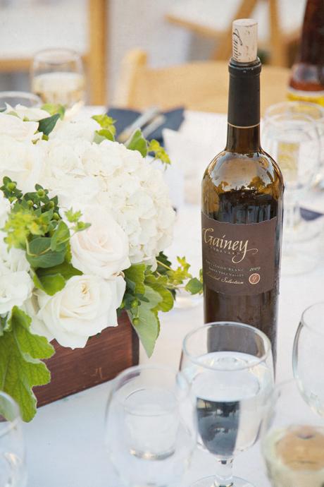 Wedding Details at Gainey Vineyard