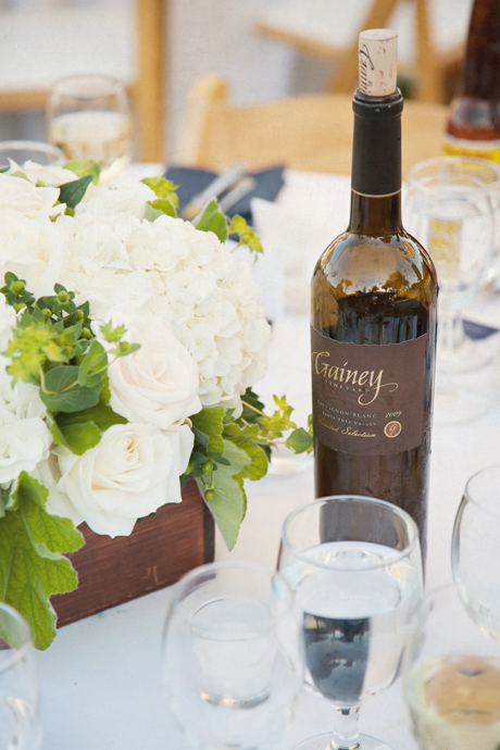 Wedding Details at Gainey Vineyard