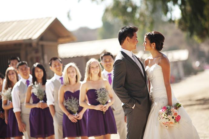 Rustic Wedding Orange County