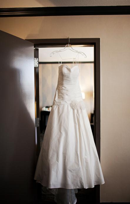 Wedding Dress at Hanford Hotel Newport Beach