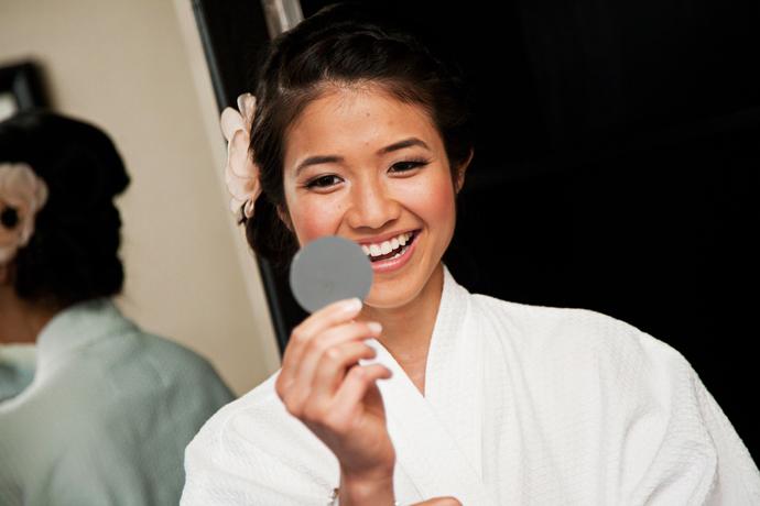 Bride at Hotel Hanford Newport Beach