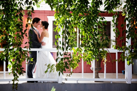 Red Horse Barn Wedding