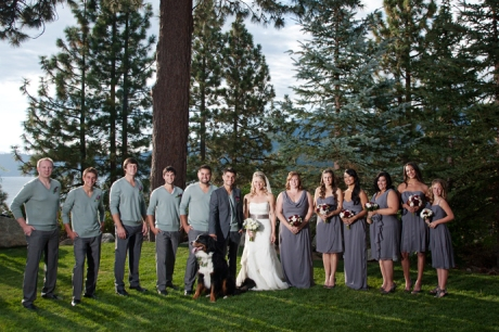 Destination Wedding Lake Tahoe Nevada