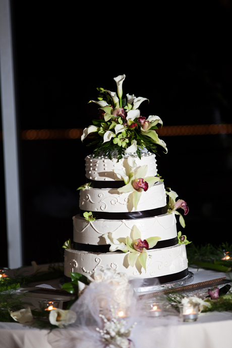 Wedding Cake at La Canada Flintridge Country Club