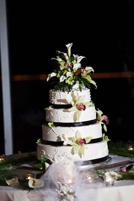 Wedding Cake at La Canada Flintridge Country Club
