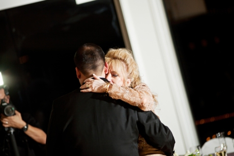 Mother Son Dance at La Canada Country Club Wedding