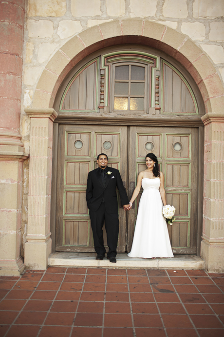 Santa Barbrara Mission Wedding