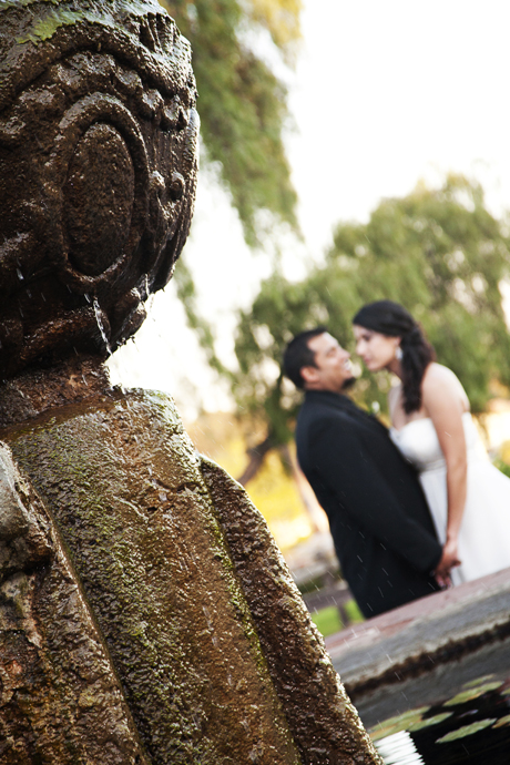 Wedding at the Santa Barbara Mission