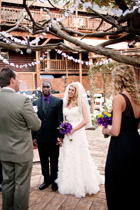 Hidden Creek Lodge Wedding Ceremony