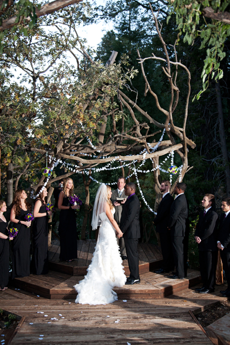 Lake Arrowhead Wedding Ceremony