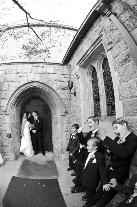 All Saints Church Wedding in Pasadena