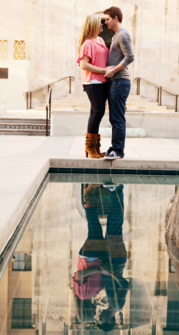 Los Angeles Central Library Engagement Pictures