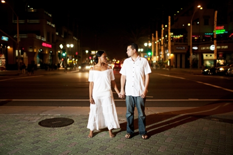 Main Street Huntington Beach Engagement Pictures
