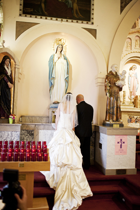 Our Lady of the Rosary Catholic Church Wedding San Diego