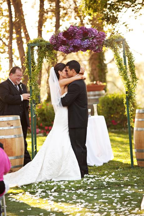 Falkner Vineyard Wedding Ceremony