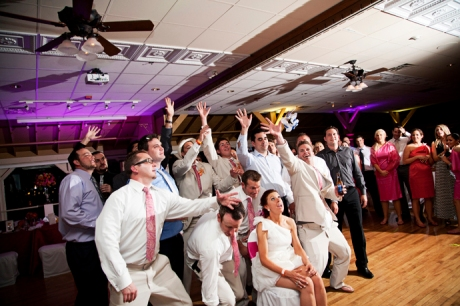 Harborside Pavilion Wedding Reception