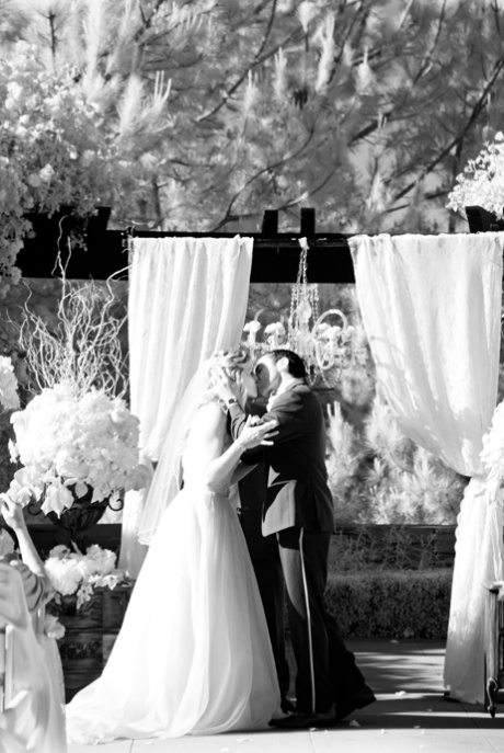 Infrared Wedding Photography, Infrared Wedding Pictures, Shady Canyon Country Club Wedding, Irvine Wedding Photographer