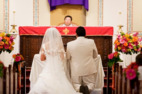 St. Mary's Catholic Church Wedding Huntington Beach