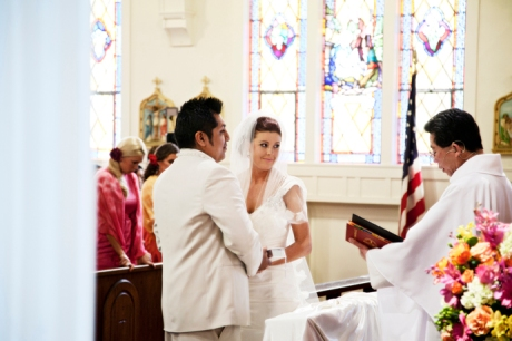 St. Mary's Catholic Church Wedding Ceremony