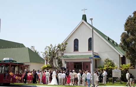 St. Mary's Catholic Church Wedding, Huntington Beach