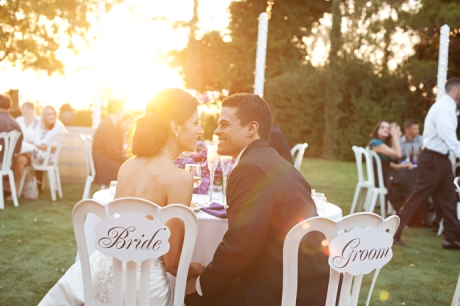 Temecula Wine Country Wedding Reception