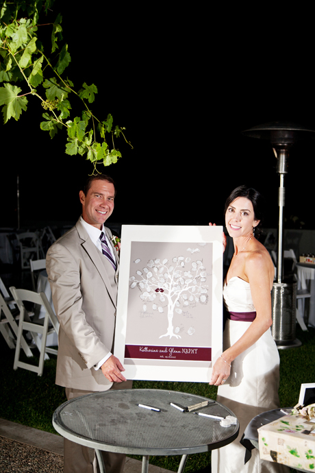 Gainey Vineyard Wedding Reception
