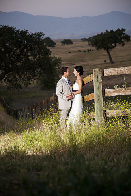 Central Coast Wine Country Wedding