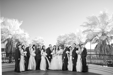 Infrared Wedding hotography