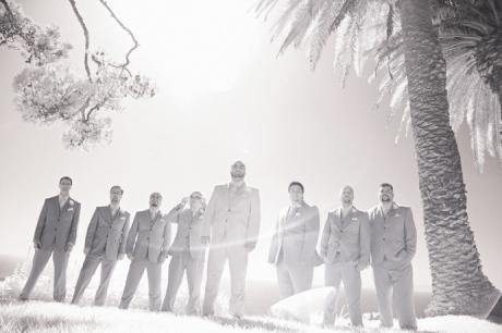 Infrared Wedding Photography at La Venta Inn