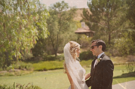 Bride and Groom at Shady Canyon Country Club Wedding