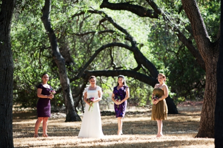 Descanso Gardens Wedding Pictures