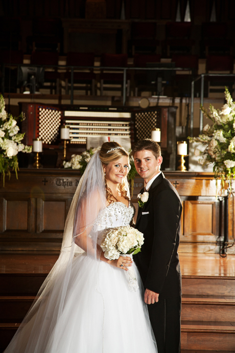 Hollywood United Methodist Church Wedding