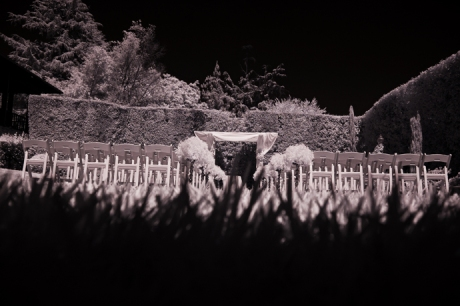 Infrared Wedding Pictures at Alta Dena Country Club