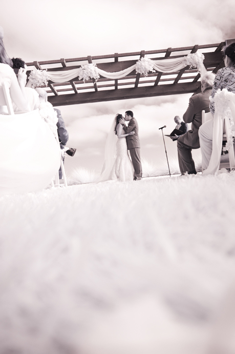 Infrared Wedding Photography at Terranea Resort
