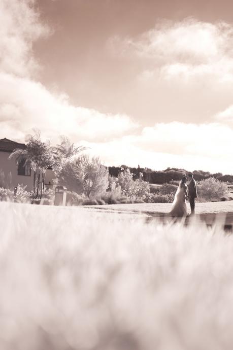 Infrared Wedding Photography at Terranea Resort