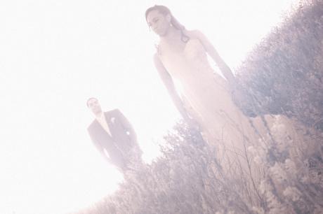 Infrared Wedding Photography at Terranea Resort Wedding