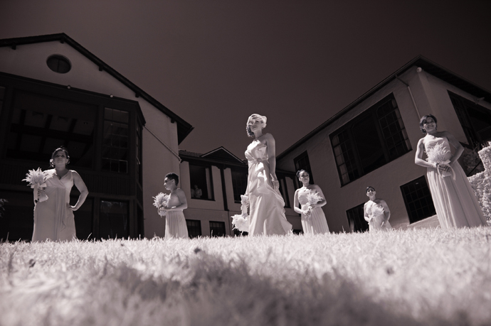 Infrared Wedding Photography at Infrared Alta Dena Country Club