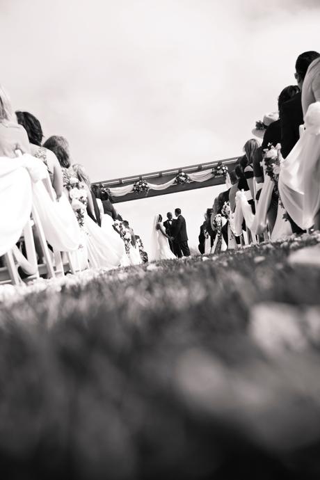 Infrared Wedding Pictures at Terranea Resort