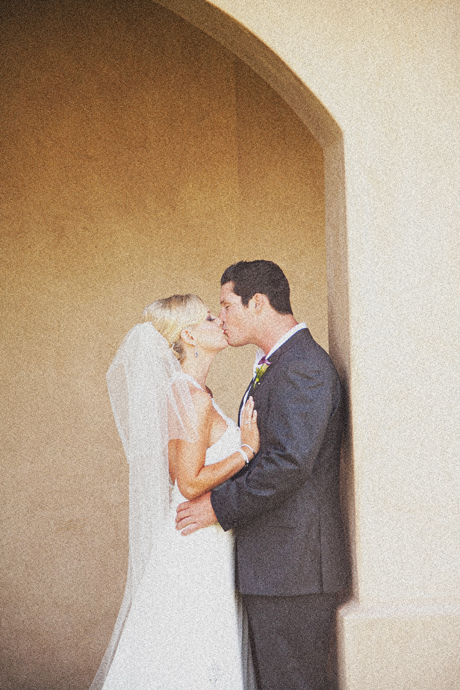 Bride and Groom at Mission Viejo Country Club Wedding