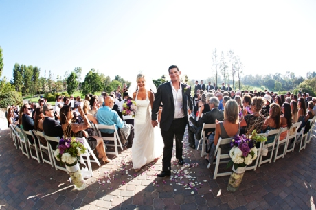 Mission Viejo Country Club Wedding Ceremony