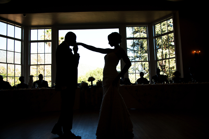 First Dance at Alta Dena Country Club Wedding Reception