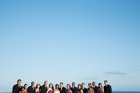 Bridal Party at Terranea Resort Wedding