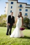 Bride and Groom at Terranea Resort Wedding