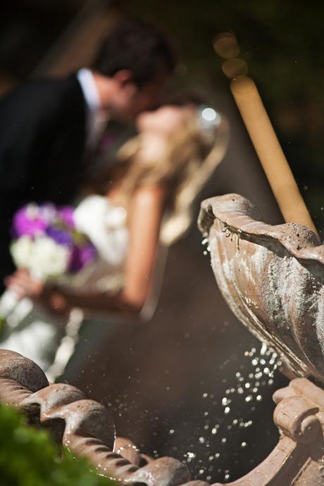 Bride and Groom at Los Willos Estate Wedding