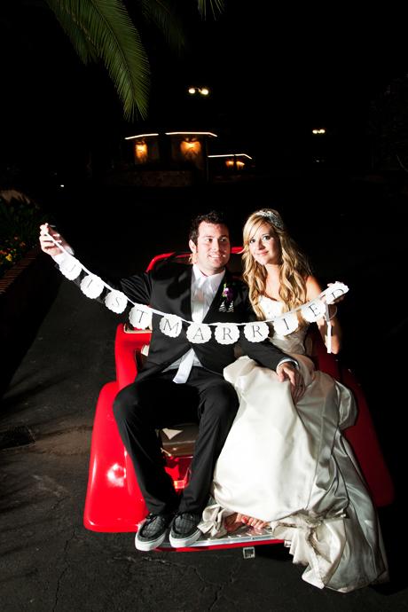 Los Angeles Estate Wedding Reception