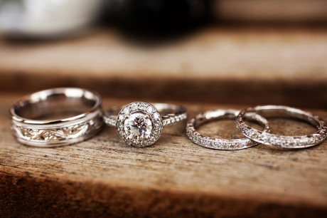Wedding Rings at Old Ranch Country Club