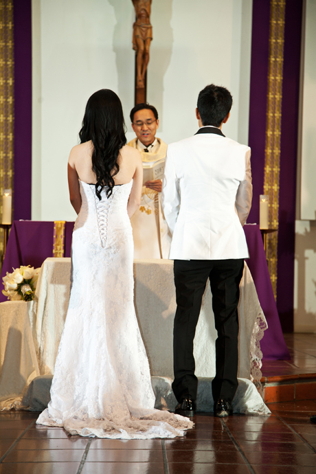 Catholic Church Wedding Reception