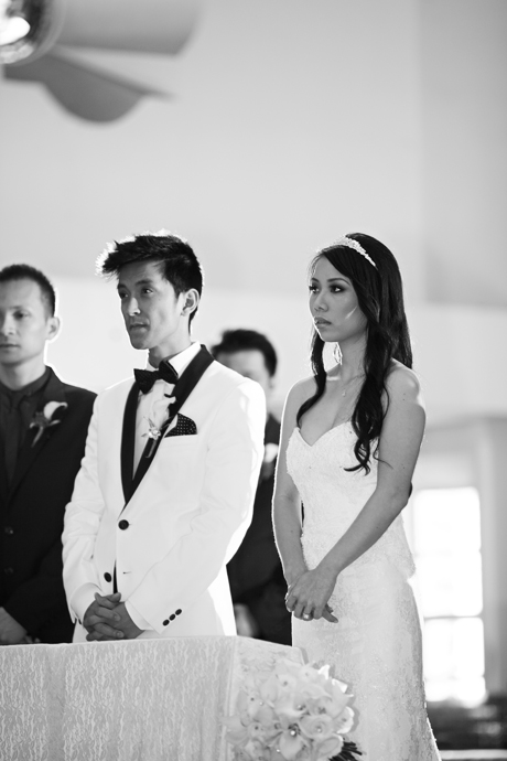 Catholic Church Wedding in Orange County